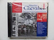 CD ALBUM  Chefs d oeuvre de la chanson francaise MAURICE CHEVALIER CF013