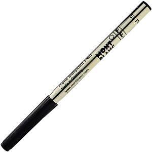 New MONTBLANC 12968 Refill for Ballpoint Pens Mystery Black Fine JPN