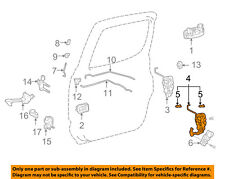 TOYOTA OEM 01-04 Tacoma Rear Door-Lock or Actuator Latch Release 6930504020