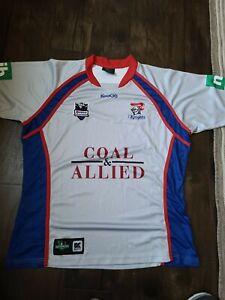 Newcastle Knights National Rugby League NRL Kooga Jersey XXL