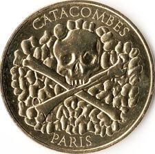 75014 PARIS CATACOMBES 5 MONNAIE DE PARIS 2016 MÉDAILLE  JETON TOKEN MEDALS COIN
