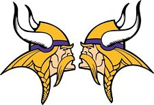 MN Minnesota Vikings decal sticker football