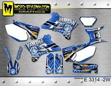 Yamaha WR250f WR450f 2003 2004 graphics decals kit Moto StyleMX