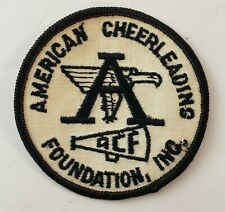 Vintage 60's American Cheerleading Foundation Sweater Patch Acf