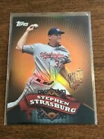 2010 Topps Chrome Baseball Target Exclusive - Stephen Strasburg - Nationals