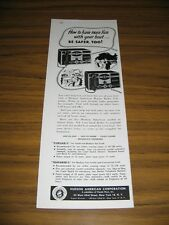 1953 Print Ad Morse Instrument Co for Boats Hudson,Ohio