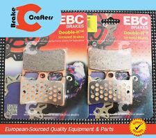 2001-2005 YAMAHA FZ1 FZS1000 EBC HH RATED FRONT BRAKE PADS + NEW BRAKE PAD PINS