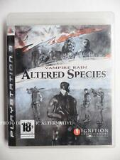 jeu VAMPIRE RAIN ALTERED SPECIES pour PS3 playstation 3 en francais game juego