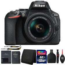 Nikon D5600 DSLR Camera with 18-55mm Lens and Accessories
