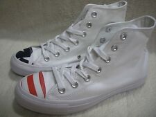 Converse 153911C CTAS Hi White/Navy/Red Men's 5 - Women's 7