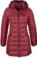 NEU NAPAPIJRI Aerons Wom Long Mantel Steppmantel S donna red Wintermantel coat