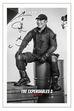 JET LI THE EXPENDABLES 3 SIGNED PHOTO PRINT AUTOGRAPH POSTER