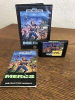 Sega Genesis Mercs Cib Complete