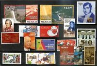 MEXICO 15 DIFFERENT MODERN STAMPS LOT, VF
