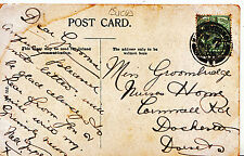 Genealogy Postcard - Family History - Groombridge - Dorchester - Dorset   U3627