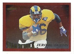 1995 Score Football - Red Siege - #216 - Jerome Bettis - St. Louis Rams