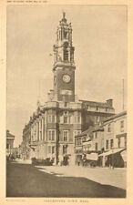 Colchester Town Hall. Essex (2) 1902 old antique vintage print picture