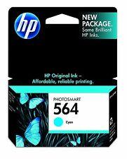 Genuine HP 564 Cyan Ink Cartridges For Photosmart