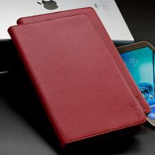 """Echt Leder Schutzhülle für Samsung Tab S2 9,7"""" - rot - Case Tablet Cover Tasche"""