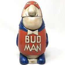 Vintage 1975 CS1 Budweiser Bud Man Stein Hollow Head CERAMARTE