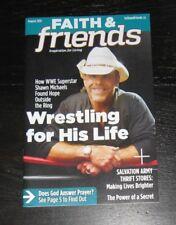 Faith & Friends magazine Shawn Michaels WWE Wrestling photos + article 2015
