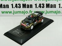 RD18B 1/43 IXO Direkt Rallye : CITROËN DS3 WRC France 2013 S.LOEB / D.ELENA