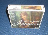 Die schönsten Adagios / 3-CD Box 2000 - Über 200 Minuten ruhevolle Klassik