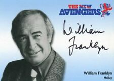 Avengers TV The New Avengers William Franklyn as McKay Autograph Card N-A5