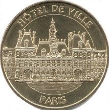 75004 PARIS HÔTEL DE VILLE MÉDAILLE MONNAIE DE PARIS 2015 JETON MEDALS TOKEN