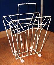 ~Vintage ~Retro ~Atomic ~Original 1960's ~Wire ~Magazine Rack ~Sputnik ~VGC~