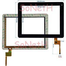 "Vetro Touch screen Digitizer 9,7"" Archos Arnova 97 G4 Tablet PC Nero"
