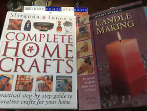 Candle Making & Complete Home Crafts - Miranda Innes, Craft Books