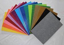 Moosgummi Glitter Glitzer 18 verschiedene Farben A4 von Knorr prandell