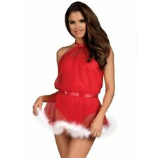 Lingerie Femme - Déguisement Sexy - Costume de Noel Santastic par Obsessive