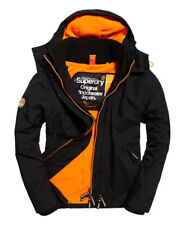 Mens Superdry Pop Zip Hooded Artic Windcheater Jacket Black XS Box57 31 a