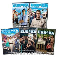 Eureka: Complete Colin Ferguson TV Series Seasons 1 2 3 4 5 Box / DVD Set(s) NEW