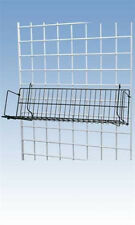 Cd/Dvd Shelf in Black 48 L x 6 D x 6.5 H Inches for Gridwall