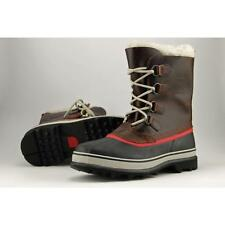 Sorel Caribou Men US 9 Red Snow Boot Blemish  19213