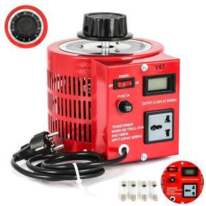0-250V Output Variac Variable Transformer Voltage Regulator Powerstat 1000VA