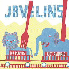 The Javelins : No Plants Just Animals Rock 1 Disc CD