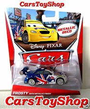 Disney Pixar Cars Frosty 2.0 with Metallic Finish Silver Australian Racer Deco
