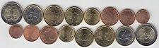 Série de 8 monnaies de Slovaquie année 2009 Monnaies provenant de rouleaux
