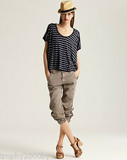 NEW J BRAND $235 JEANS 1334 EARHART SLOUCHY FLIGHT PANTS IN VINTAGE MARSHALL 30