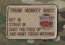 KANDAHAR-WHACKER© NATO ISAF COALITION OPERATOR INSIGNIA: Trunk Monkey Brief DD