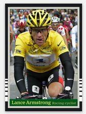 Lance Armstrong Racing Cyclists Card