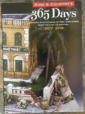 NEW! King & Country 365 Days 2017 - 2018 12 Month Leaflet 20 Pages
