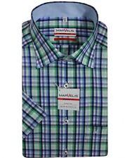 Camicie classiche da uomo a manica corta multicolore