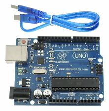 [Sintron] Uno R3 ATMEGA328P + USB Cable +Reference PDF Files for Arduino's IDE