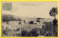 cpa Ecrite en 1906 SAINT VALERY sur SOMME Vue prise du CHÂTEAU des SIX MOULINS