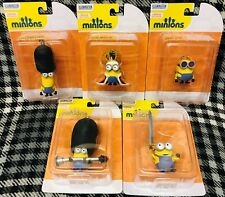 MINIONS - 3D CLIP-ON FIGURES - SET OF 5